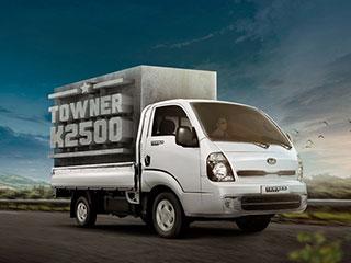 ¡El nuevo camión comercial Towner K2500 de Kia llegó para quedarse!